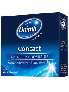 Contact - naturalne doznania, 100% komfortu (3 szt.)