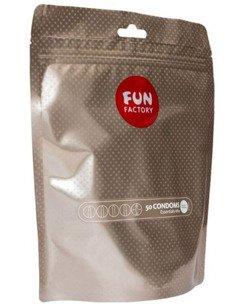 Fun Factory Pleasure Mix - żebrowane, z wypustkami (50 szt.)