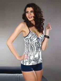 Laila - koszulka w afrykańskie motywy + szorty