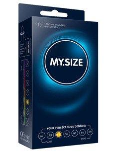 """MY.SIZE """"53""""  - dobrane do obwodu 11,0 - 11,5 cm (10 szt.)"""