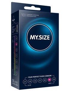 """MY.SIZE """"64""""  - dobrane do obwodu 13,0 - 14,0 cm (10 szt.)"""