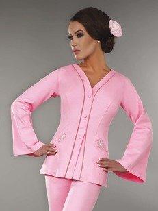 Sorana szlafrok - szlafrok mini w różowym odcieniu