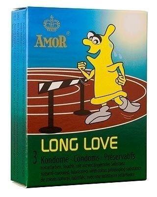 Long Love - przedłużające stosunek (3 szt.) - AM-50001