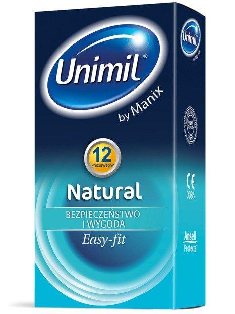 Natural - klasyczne prezerwatywy (12 szt.) - NC12NAPL