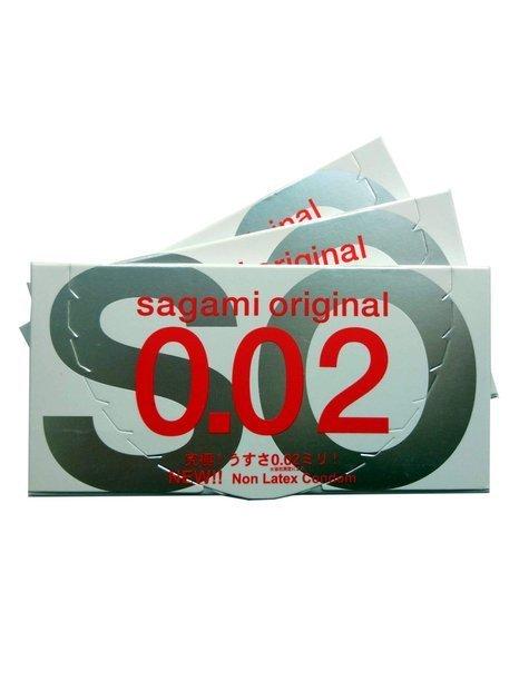 Sagami Original 0.02 ZESTAW 3x2 szt.